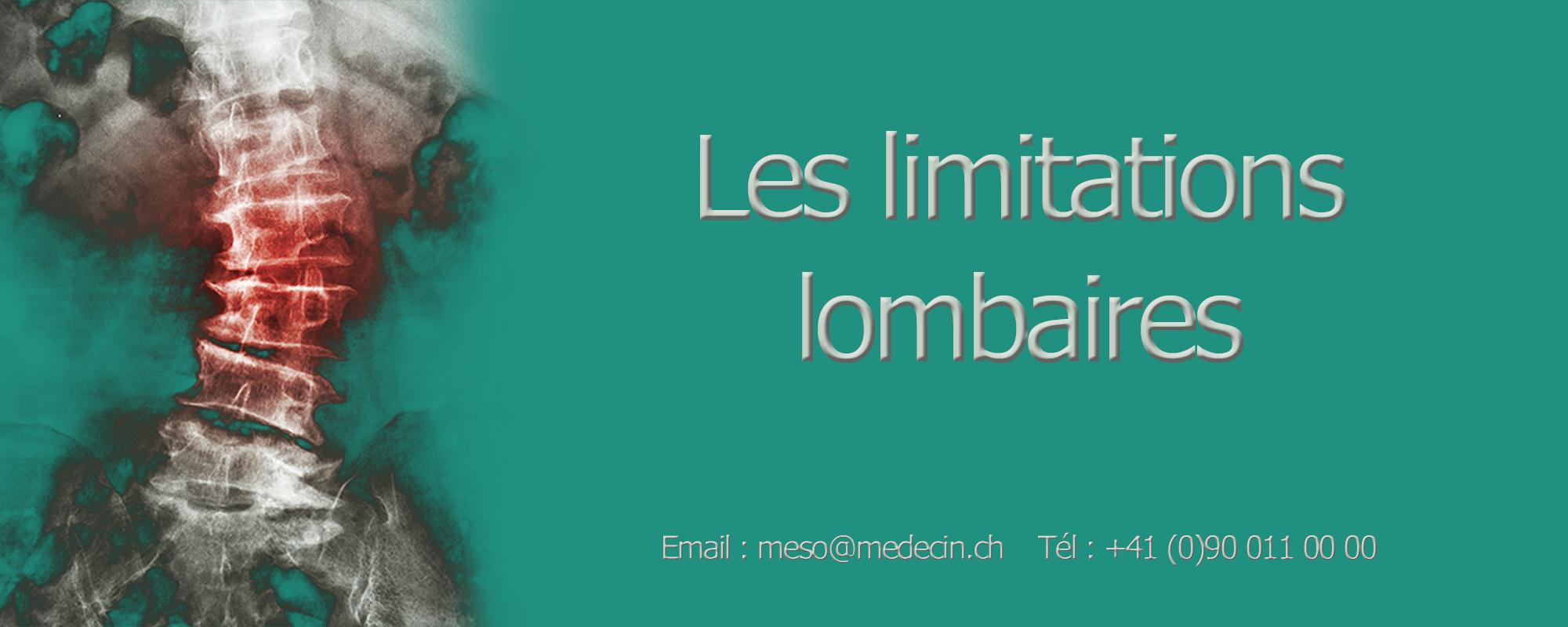 Lombalgies mésothérapie Genève